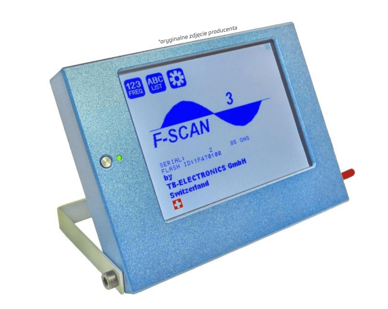 Obraz urządzenia F-Scan